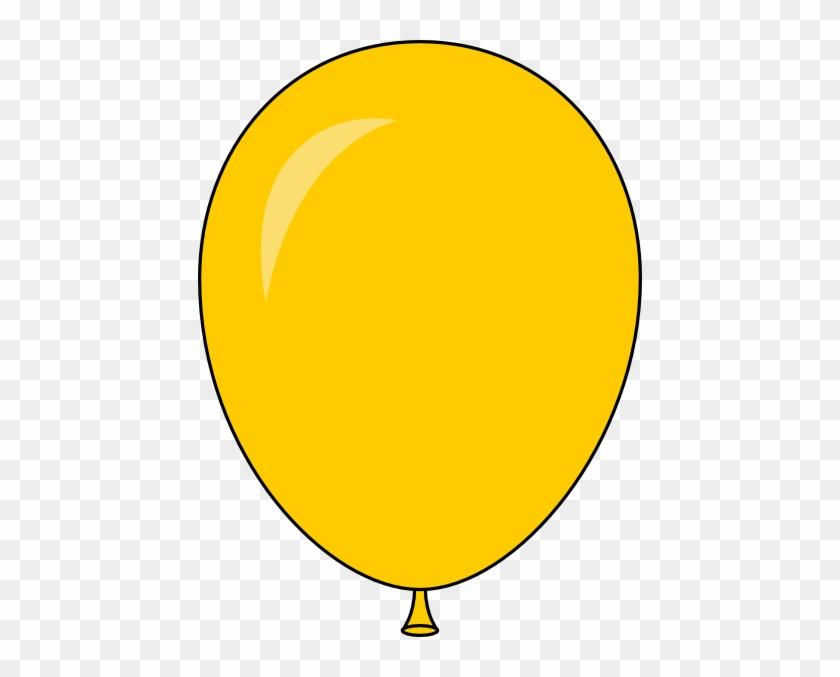 Cartoon Balloon - Yellow Balloon Icon Png #906569