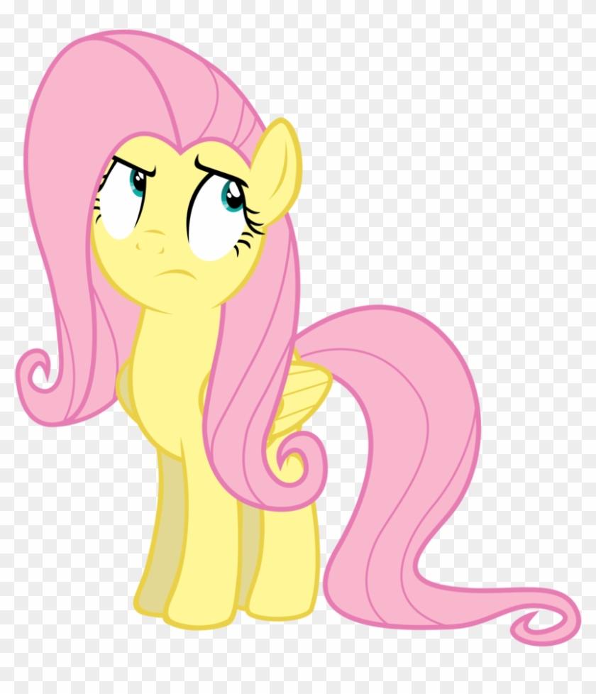 Fluttershy Roll Eyes By Yanoda Fluttershy Roll Eyes - My Little Pony Eye Roll #906892