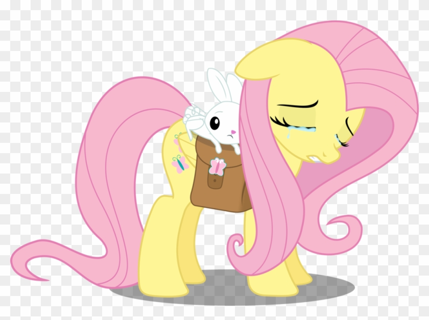 Fluttershy Sad By Matty4z - Fluttershy Sad And Happy #906936