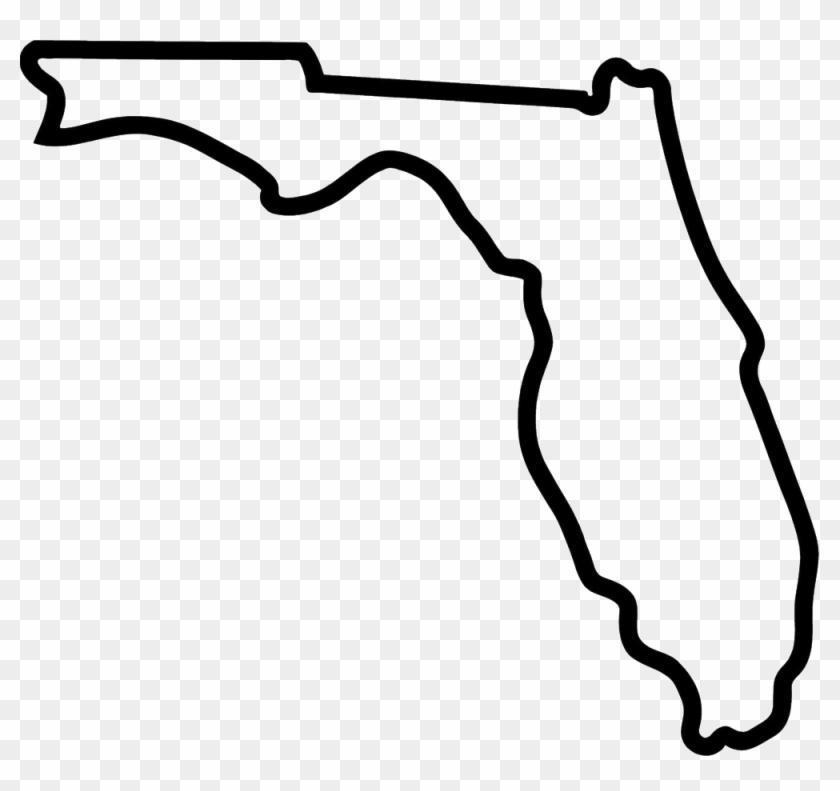 Florida-outline Copy - Florida Gators Free Svg File #907321