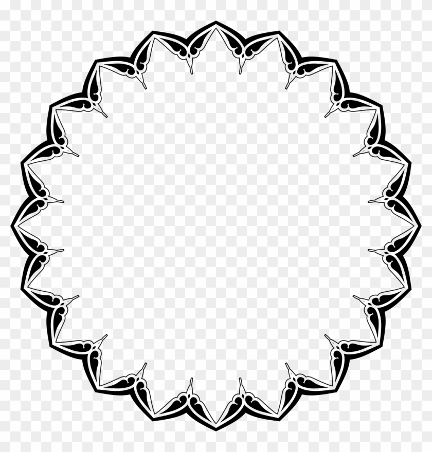 Heart Circle Border Svg Free Transparent Png Clipart Images Download