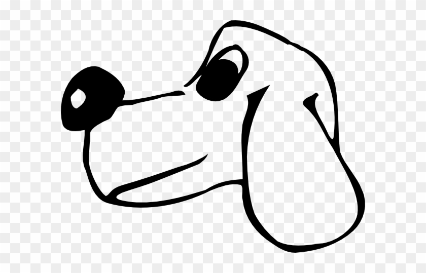 Comic Dog Head Clip Art Vector Cartoon Dog Face Side View Free Transparent Png Clipart Images Download