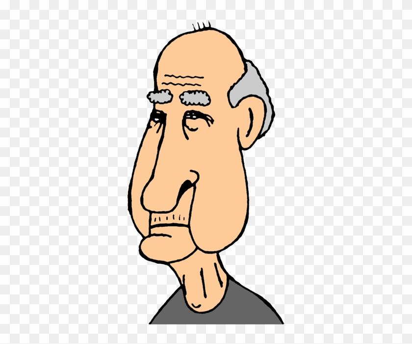 Clip Art Old Men Clipart - Old Man Face Clip Art #908413
