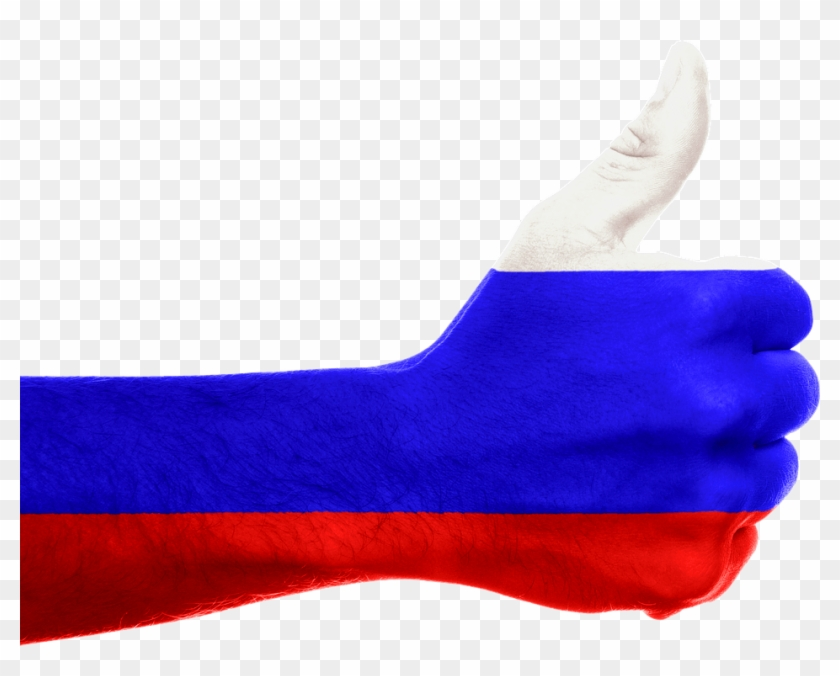 Hand Russian Flag - Russia Flag Hand #909496