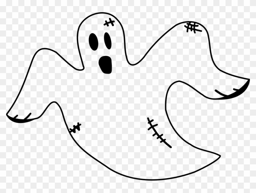 pin scary ghost clipart ghost black and white free