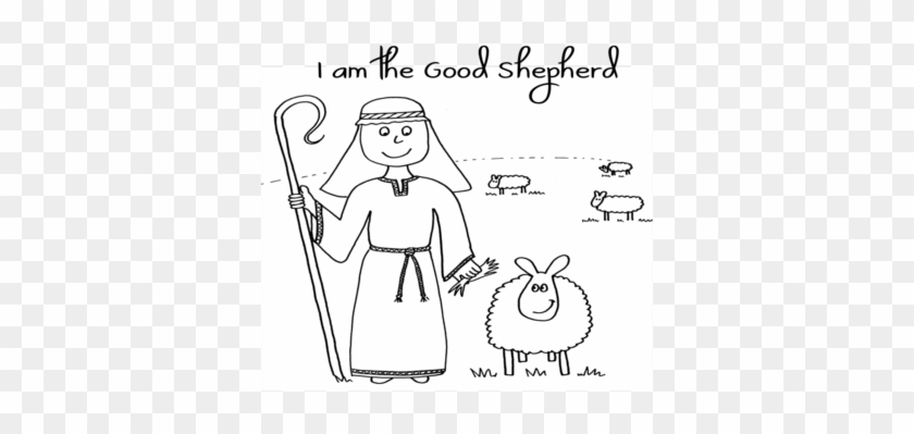 Coloring Trend Thumbnail Size Jesus And Sheep Clip Coloring Book Free Transparent Png Clipart Images Download