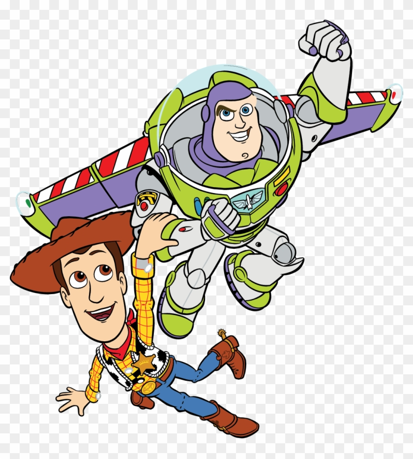 Pin By Annie Velázquez On Elliot Gabriel 8 - Buzz And Woody Clipart #911300