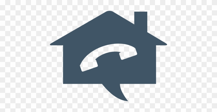 Phone House Real Estate Icon Transparent Png - Logo Telefone Transparente #911922
