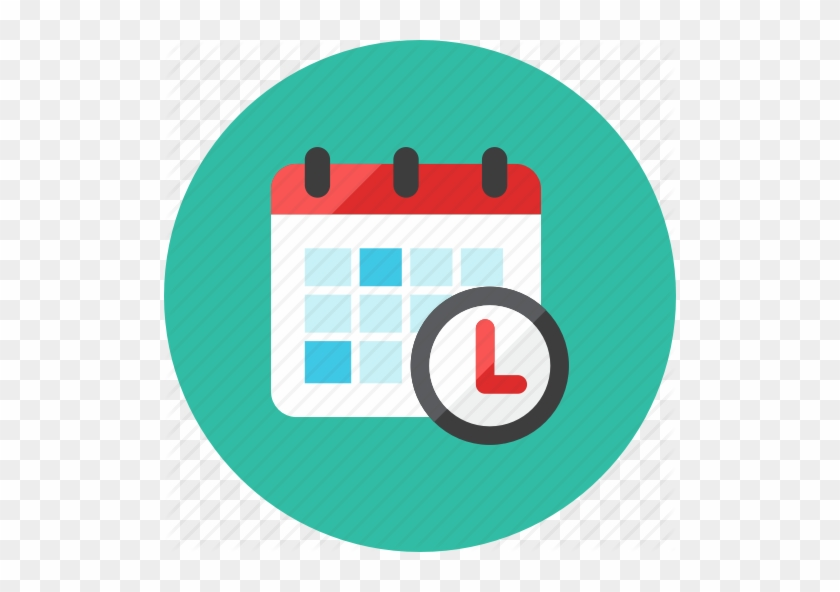 Jquery Datetimepicker Supported - Calendar Time Icon Png