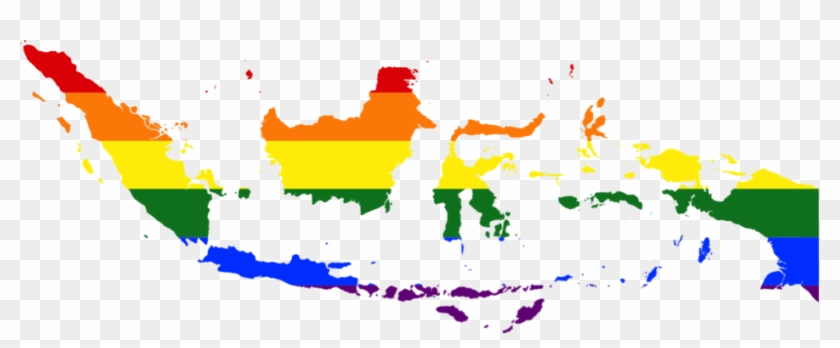 Flag Map Of Indonesia #912404