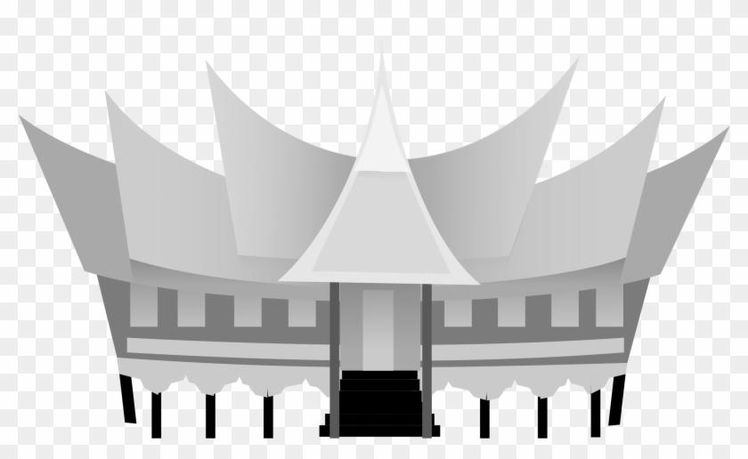 House Of Minangkabau West Sumatera Indonesia Rumah Gambar Rumah Gadang Free Transparent Png Clipart Images Download