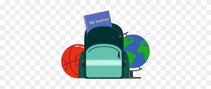 Travel Package Options - School Backpack Vector #912580