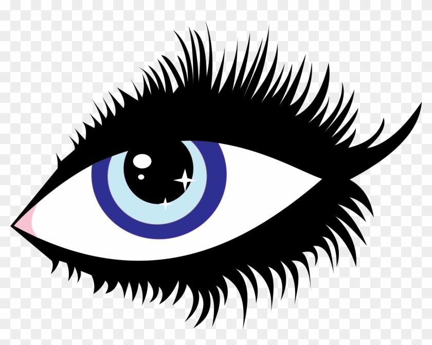 Blue Eye Clip Art Medium Size - Eyes Clipart Transparet #913011