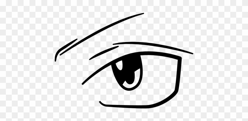 decisive anime eye illustration transparent png anime eyes
