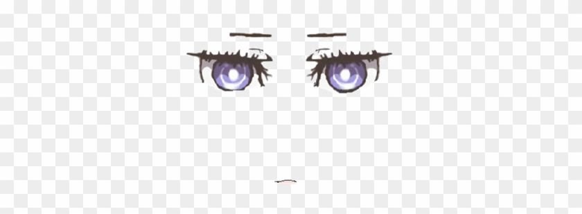 Huke Style Anime Face Roblox Anime Face Free Transparent Png