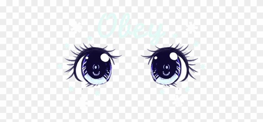 Gif Pretty Cute Adorable Mine Eyes Anime Japan Kawaii - Cute Anime Eyes #913220