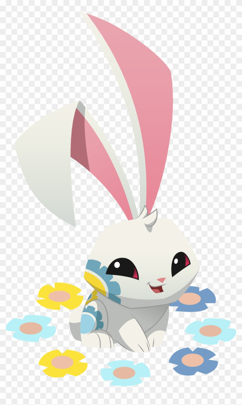 Renovated Art Spring Bunny - Animal Jam Png Bunny #913892