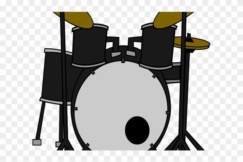 Percussion Drum Cliparts - Drum Set Clipart #914203