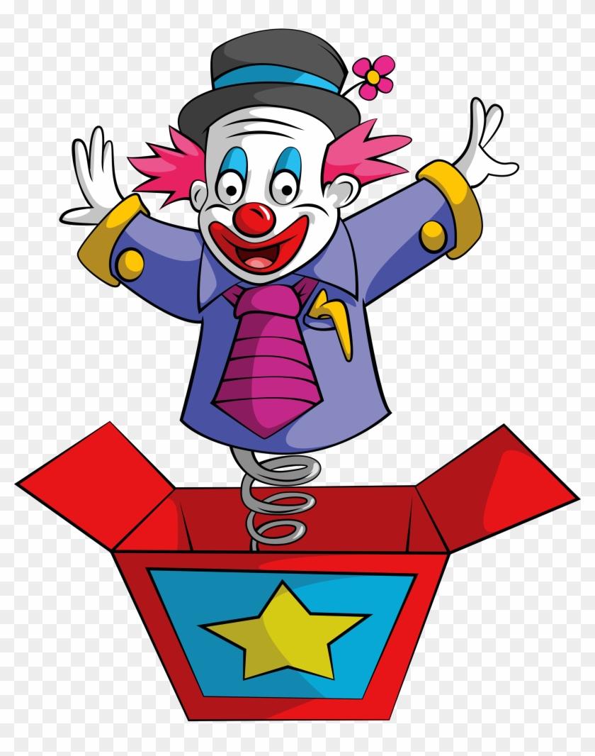 Joker Clown Jack In The Box Royalty Free - Jack In The Box Clown #914465