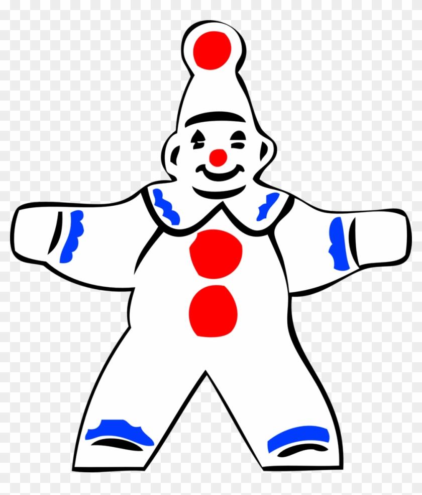 Simple, Outline, People, Clown, Figure, Face, Automatic - Clown Clipart Simple #914492
