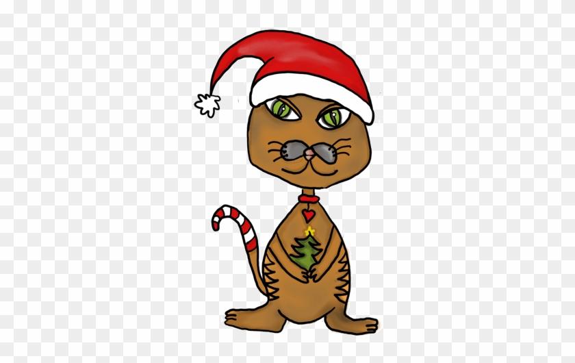 Cartoon Cat Christmas Fredecho S Cute Cat Cartoons Animated