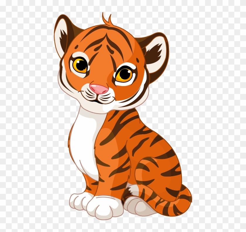 El Tigre - Baby Tiger Cubs Drawing #915105