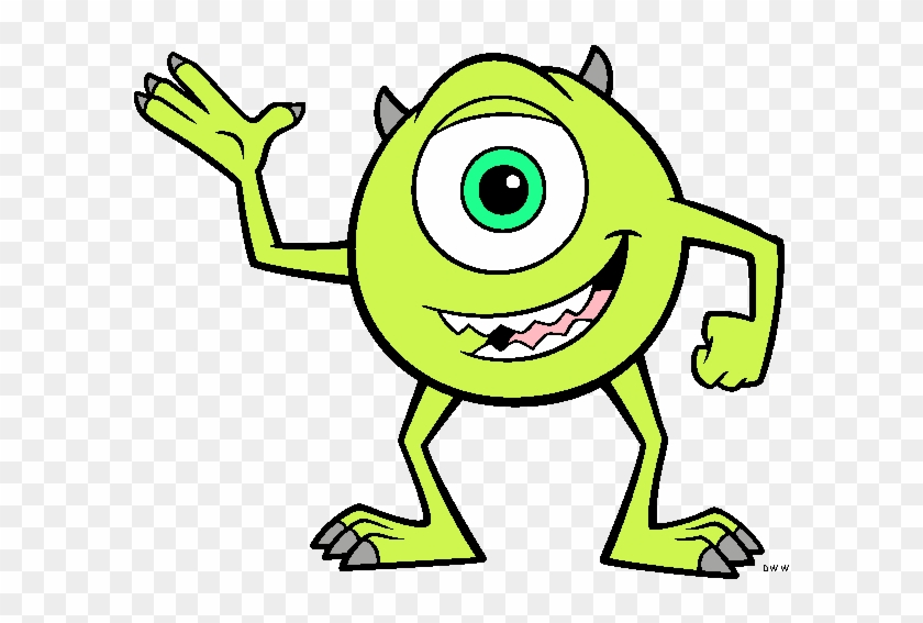 Mike Wazowski Eye Clip Art - Monsters Inc Coloring Pages - Free ...
