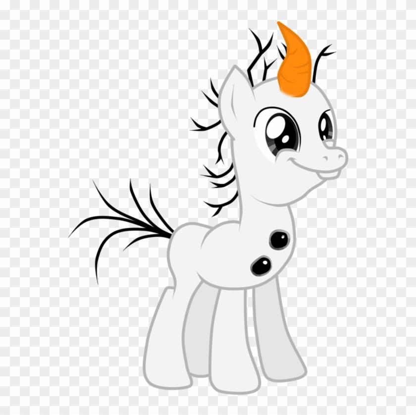 Olaf Pony By Ritya9898 - My Little Frozen Olaf #915280