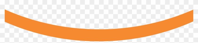 Orange Abstract Lines Transparent Image - Orange Curved Line Png #916264