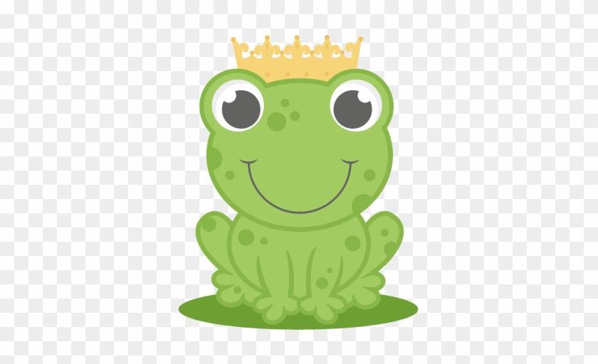 Frog Prince Svg Cutting File For Cricut Princess Svg - Cute Clip Art Frog #916600