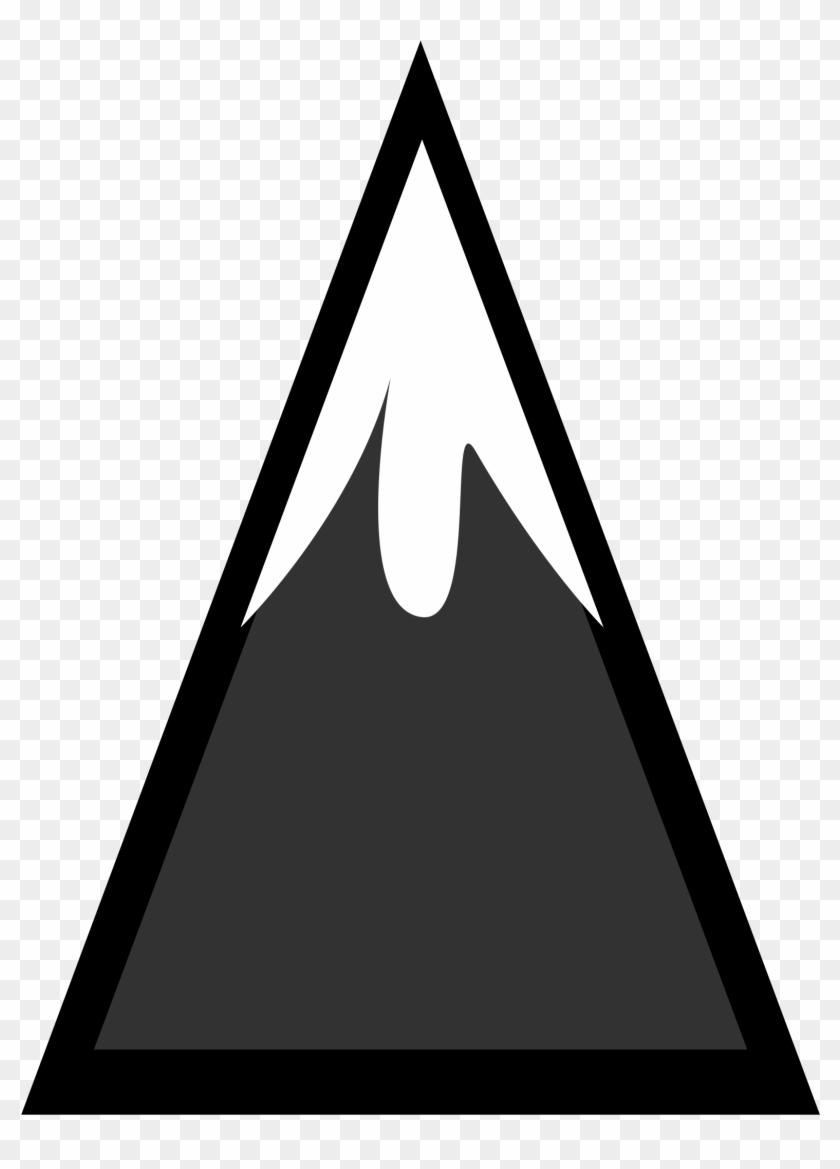 Green Mountain Clip Art Free Clipart Image - Snow Capped Mountain Vector #916852