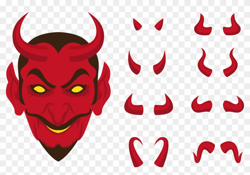 Lucifer Devil Clip Art - Lucifer Horn Png #917611