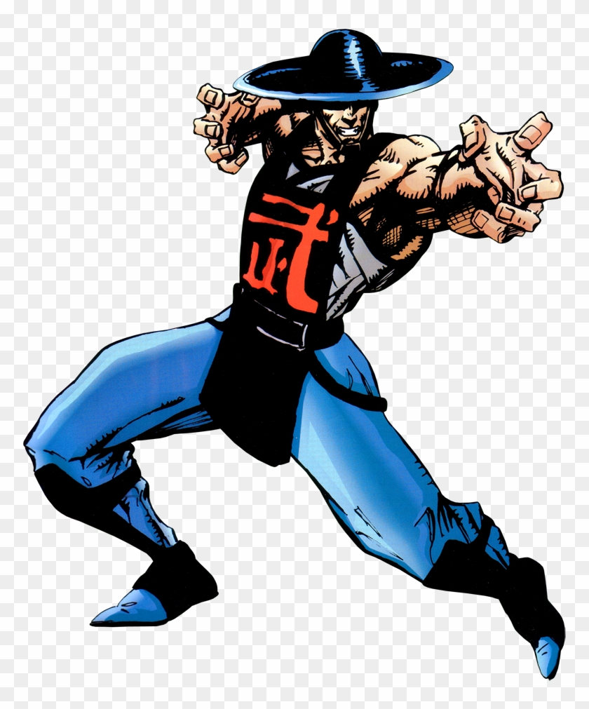 Mortal Kombat Ii Official Game Art - Kung Lao Mortal Kombat