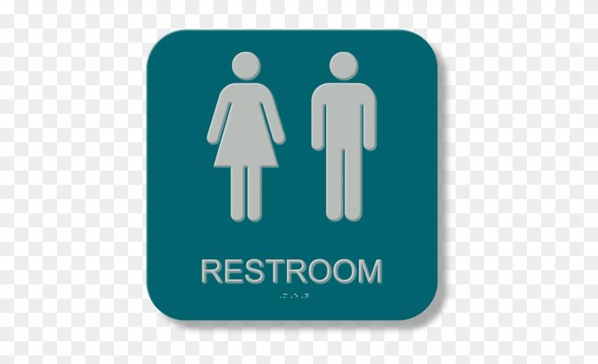 Transgender Bathroom Sign | Unisex Restroom Sign Access48 Bathroom Sign For Transgender Free