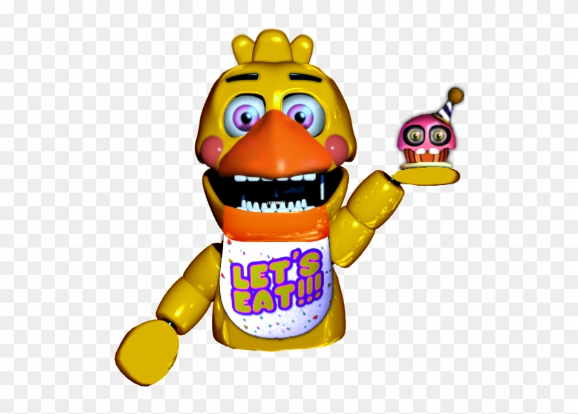 Five Nights At Freddy's - Fnaf Chica Hand Puppet #918433