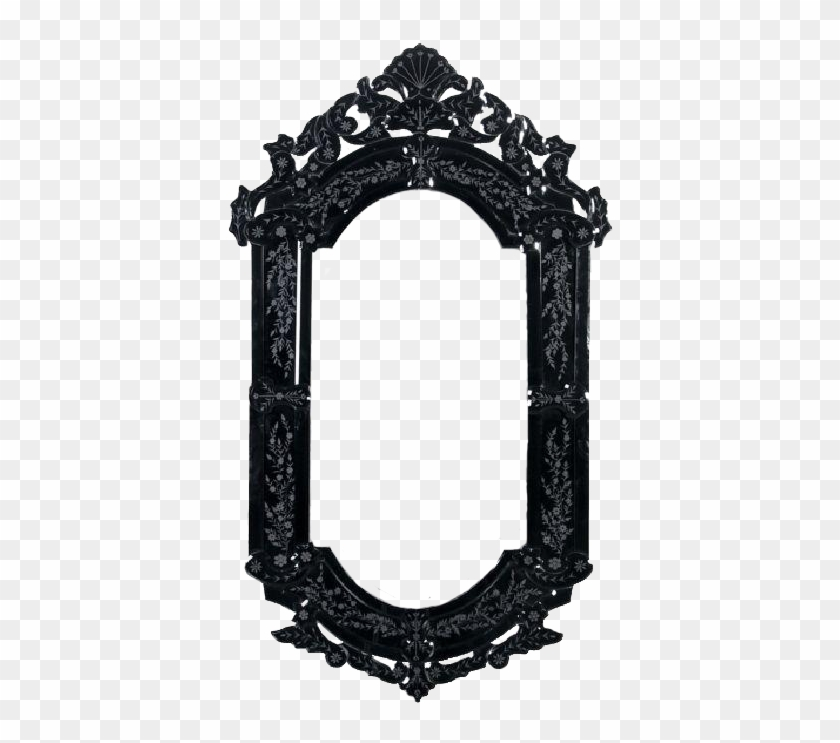 Gothic Clipart Mirror Frames Black Frame Png Gothic Free