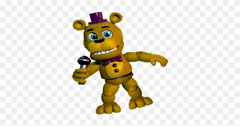 Foxy 1 Fnaf World - Fredbear And Spring Bonnie Fnaf World
