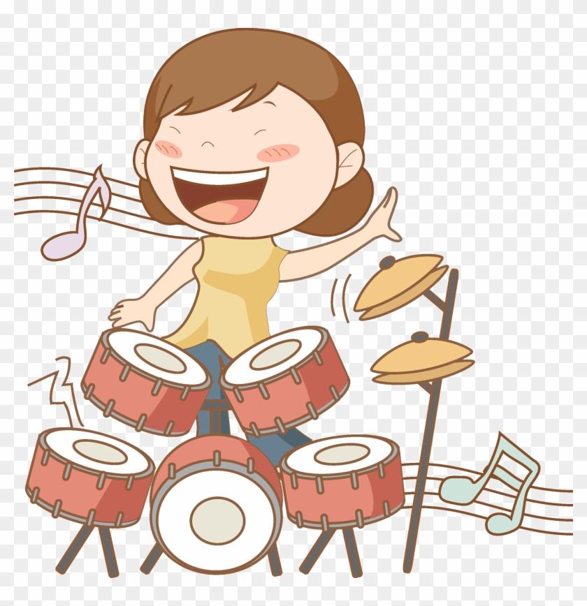 Drums Singer Clip Art - Singer #918920