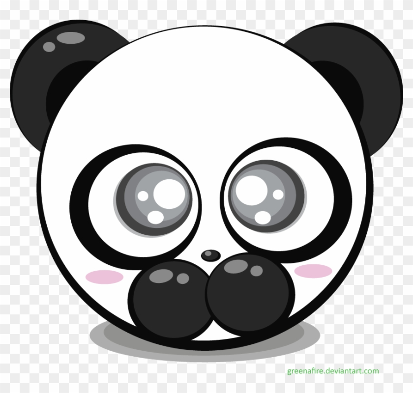 Panda Bear Vector By Greenafire On Deviantart