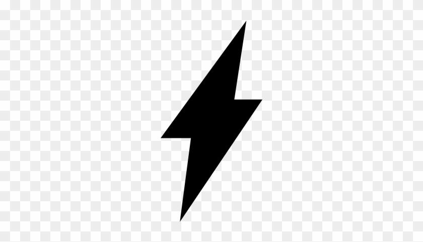 Lightning Bolt Symbol Of Flash Vector Bolt Symbol Free
