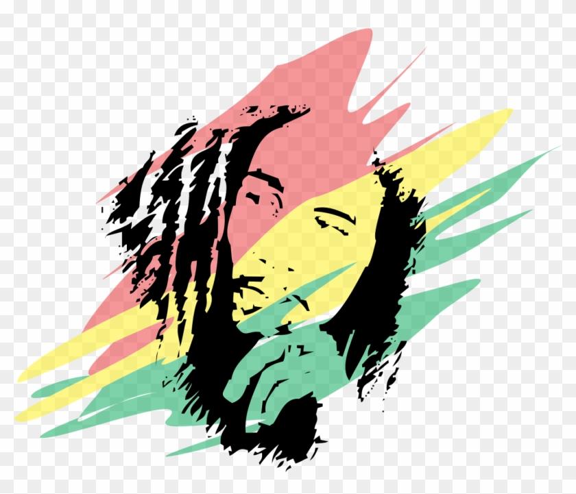 Bob Marley Colors Logo Bob Marley Vector Free Transparent Png Clipart Images Download