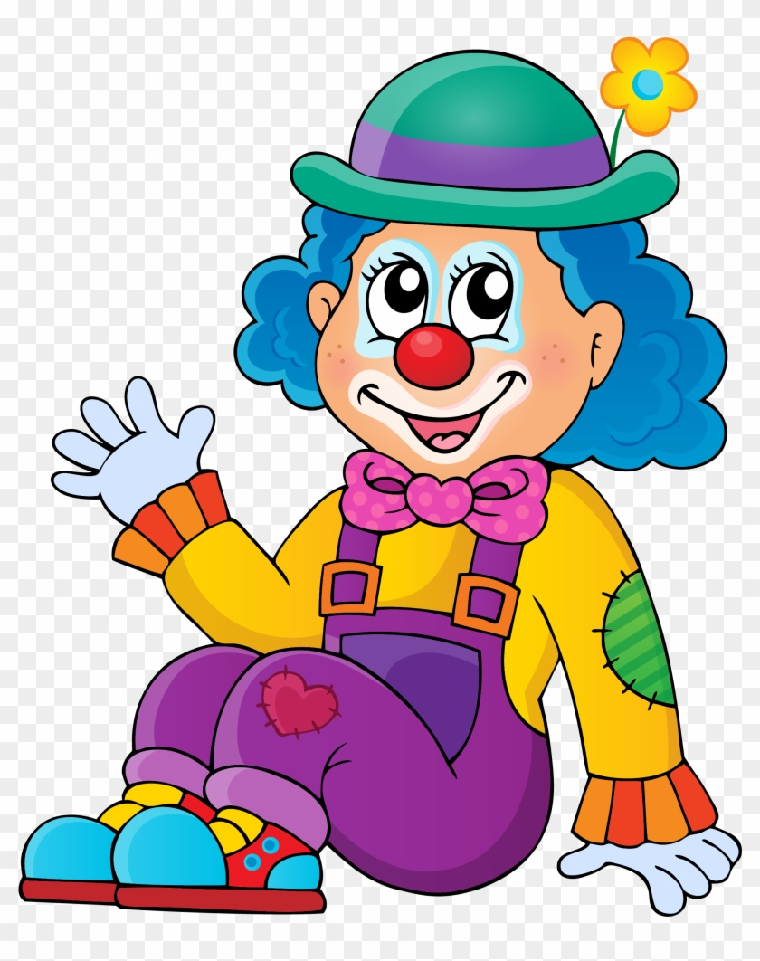 Royalty-free Clown Illustration - My Little Circus (a Coloring Book For Kids) #920175