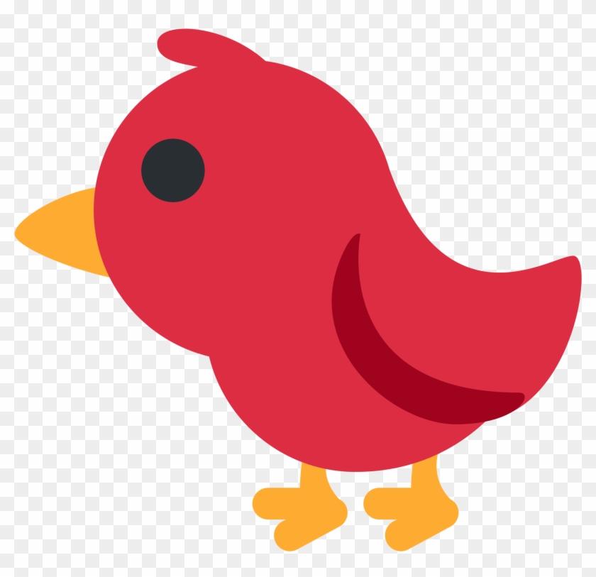 Cartoon Cardinal Bird 4 Buy Clip Art Red Bird Emoji Free