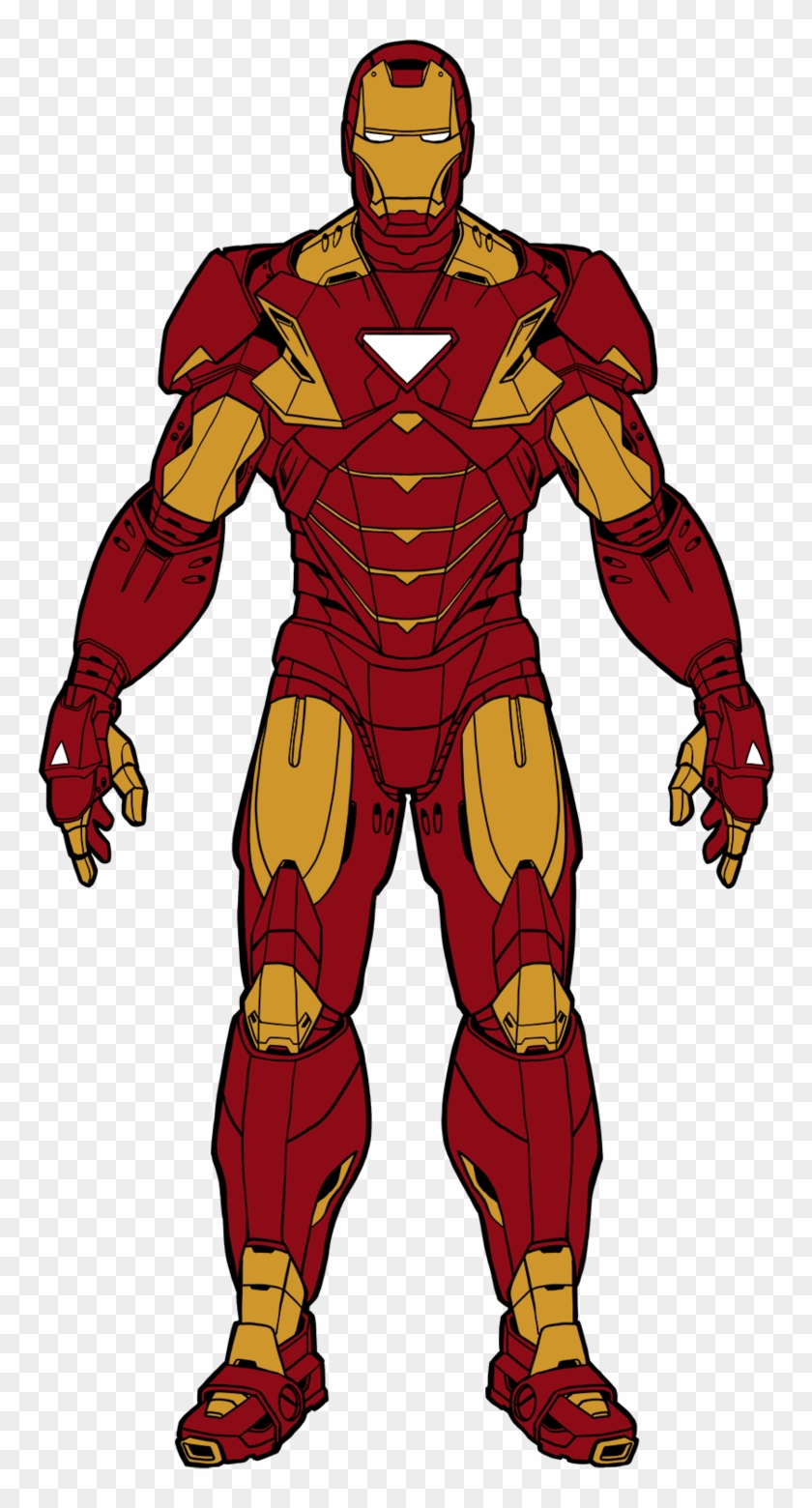 Iron Man Cartoon Drawing Color Avengers Iron Man Toy Free