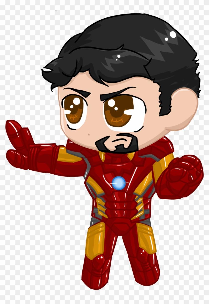 Ironman Aou Chibi By Nickyparsonavenger Ironman Aou - Marvel Chibi Iron Man Png #920820