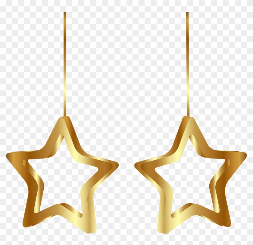 Christmas Star Ornaments Transparent Png Clipart Image - Christmas Star Decoration Png #920860