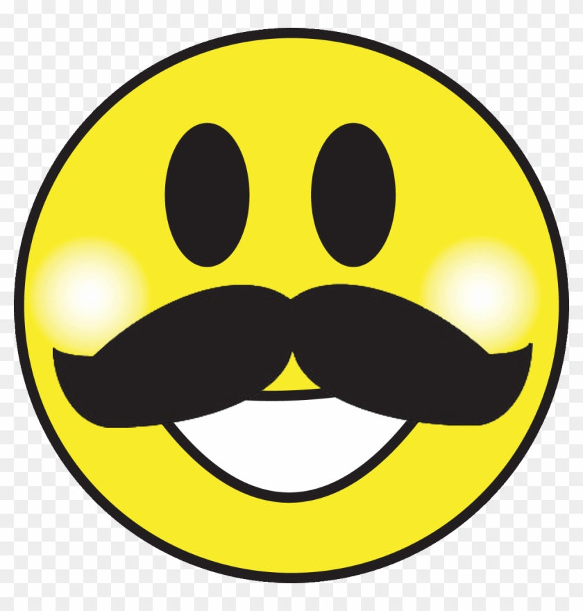 could you add smiley facesfrowny faces for younger smiley face with mustache