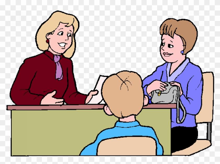 Parents Teacher Meeting In School #921495