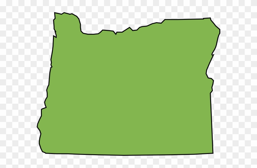 Wisconsin - Clipart - Oregon State Shape #921694