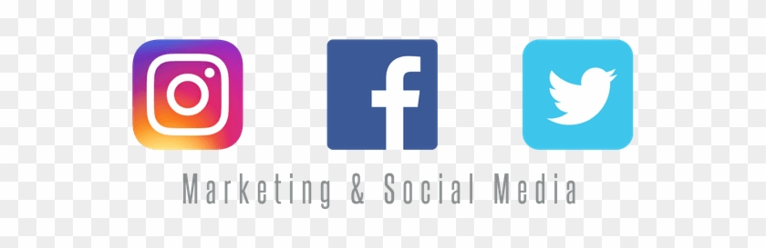 5 Things To Know Marketing And Social Media - Instagram Twitter And Facebook Logo Transparent #921796